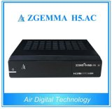 DVB-S2 Receptor de TV digital ATSC HD Zgemma H5. AC H. 265 Hevc Set Top Box