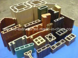 PVC|PE|WPC bois plastique gamme de machines d'Extrusion de profil
