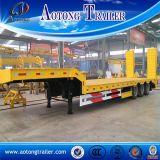 30 землечерпалки перехода тонн трейлера Semi, типа низкого трейлера бассеина 2 Axle затяжелителя