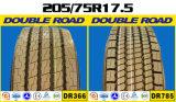 Neumáticos resistentes del carro del pasajero del modelo del omnibus de la alta calidad (205/75r17.5 225/75r17.5 245/70r17.5)