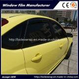 Pellicola nera calda della finestra di colore 1ply di vendita 5%, pellicola solare della finestra