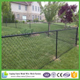 Hot DIP Galvanized Chain Link Fence avec rasoir