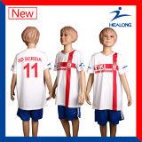 La configuration chaude folâtre le football Jersey de sublimation de vêtement pour le club d'équipe