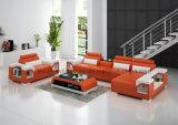 G8010eの新しいモデルの革部門別のソファー