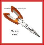 Pinces d'acier inoxydable ; La Pinces-Pêche droite de bouche de fonction d'attrait multi de pêche aborde Fg1013
