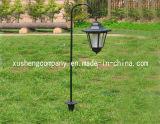 Hakenförmige Solarrasen-Lampe