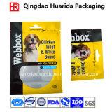 Напечатанный таможней пластичный раговорного жанра мешок застежки -молнии для упаковки еды собаки
