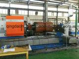Специальный горизонтальный Lathe CNC с экипажом 2 режущих инструментов на подвергать 8 метров механической обработке цилиндра (CG61160)