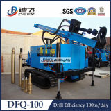 Drive superiore Trailer/Crawler Mounted DTH Drill Rig per 100m