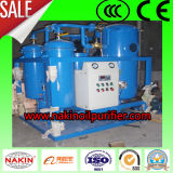 Olio residuo della turbina che ricicla macchina, tagliata la macchina di filtrazione dell'olio dell'emulsione