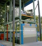 Elevación hidráulica del estacionamiento del coche de cuatro postes para el uso casero