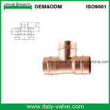 De calidad superior Certified S / Ring Copper Tee / Copper Fitting (AV8050)