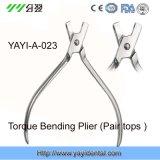 Flexión Plier-Torque ortodoncia Plier-Pair Tops (YAYI-023)