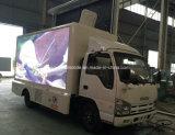 Carro publicitario móvil de Isuzu 4*2 5 toneladas de LED de vehículo de la visualización