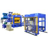 Máquina de fatura de tijolo de pavimentação oca hidráulica automática do bloco de cimento Qt10-15