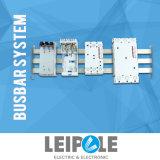 Distribuição de potência com o adaptador do conetor no sistema da barra