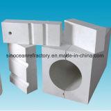 Fixierte Form Azs Ziegelsteine mit Qualität des Abnutzung-Widerstands