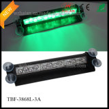 Green Color LED carro segurança interior visor Dashlights