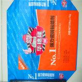 Pp. und Papierventil-Beutel mit dem Kleber-Verpacken