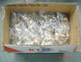 Accessorio per tubi d'ottone di Ktm - gomito uguale per il tubo di Pex-Al-Pex