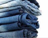 Кальсоны джинсыов рубашки джинсовой ткани джинсыов с дефектами малюсеньких рванин малюсенькими