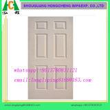Отлитая в форму кожа двери кожи двери MDF покрашенная равниной
