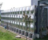 Tratamento de água em aço inoxidável pressionado o tanque de água de combate a incêndio do Painel