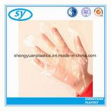 Один Используйте одноразовые перчатки из полимера