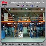 Mezzanine van het Platform van de Structuur van het staal het Rekken van de Vloer Systeem