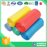 HDPE bolsa de basura de la basura reutilizable colorido