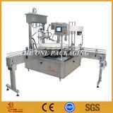 Máquina de relleno y que capsula de tiempo del control de la crema automática de Monoblock