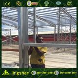 Construction galvanisée préfabriquée d'atelier et d'entrepôt
