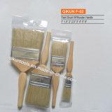 F-07 Decorar hardware Herramientas de mano de pintura de Mango de caucho filamentos sintéticos brocha