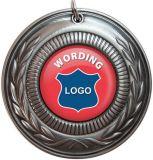 Médaille d'émail doux en alliage de zinc avec ruban