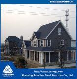 Estructura de acero de sección H prefabricados para casa con material de construcción de Q235.