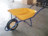 Wheelbarrow com roda e a bandeja contínuas de Platstic