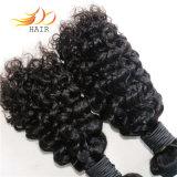 100%년 Remy 머리 Jerry 컬 자연적인 색깔 Burmese Virgin 머리