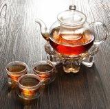 Грелка чайника новой формы сердца конструкции стеклянная для оптовика