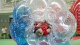 Burbuja del balón de fútbol, Cuerpo bola de Zorb para partidos de fútbol, Traje de burbujas 1.2m 1.0mm TPU