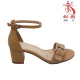 Un sandalo variopinto delle 2018 di estate delle signore donne di Flannelette (HAS45-PU)