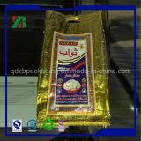 sacchetto tessuto pp di 25kg 50kg per l'imballaggio della sabbia del cemento del fertilizzante dello zucchero del riso