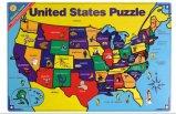Деревянная головоломка карты США головоломки карты