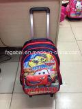 Saco de escola removível do trole das crianças por atacado dos desenhos animados