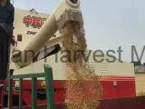 De rijst combineert de Machine van de Oogst met het Leegmaken van 2.5m Pijp wordt uitgerust die