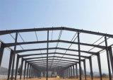 Acciaio chiaro prefabbricato liberato di/costruzione della struttura d'acciaio del gruppo di lavoro magazzino della fabbrica