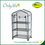 Onlylife 3 층 PVC 경제적인 편리한 정원 소형 온실