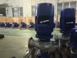 Pompe à pipe chimique verticale en acier inoxydable