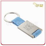 ポリエステルストラップが付いている管理のギフトの印刷できる金属Keyholder