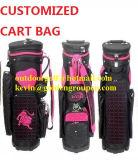 Дешевый мешок тележки повелительницы гольфа PU, мешок пушки гольфа, мешок карандаша гольфа, продукты гольфа