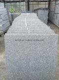 Matériau gris G343 de granit flambé